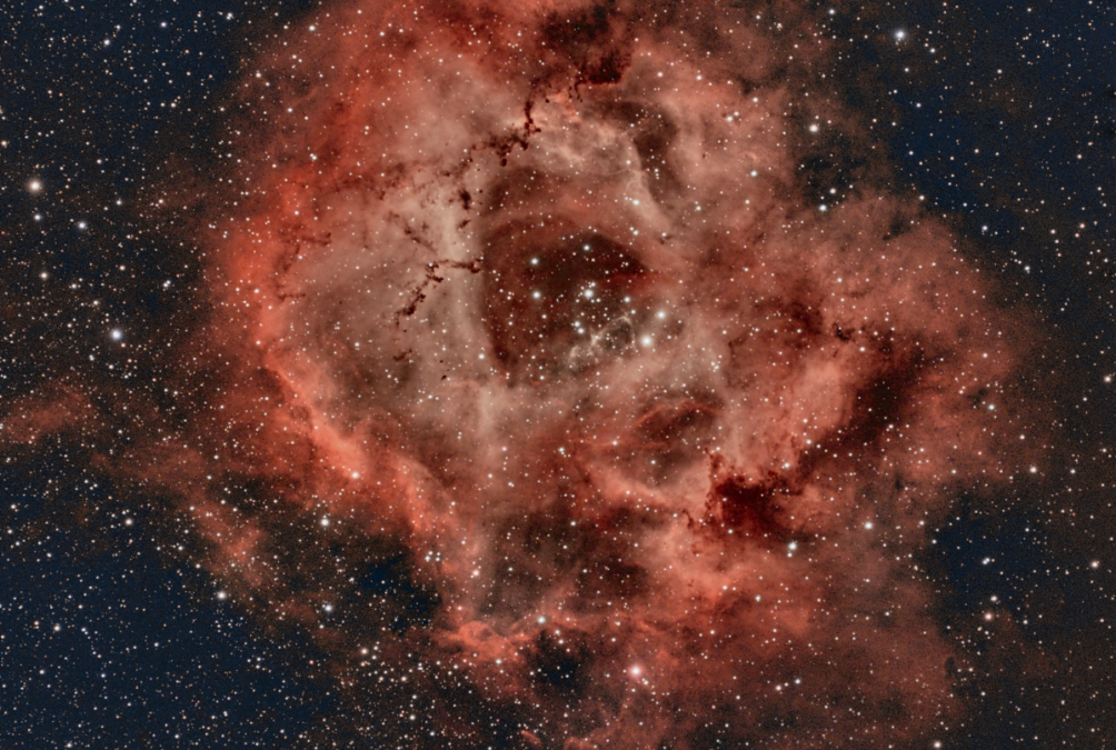 Using PixInsight with the Rosette Nebula